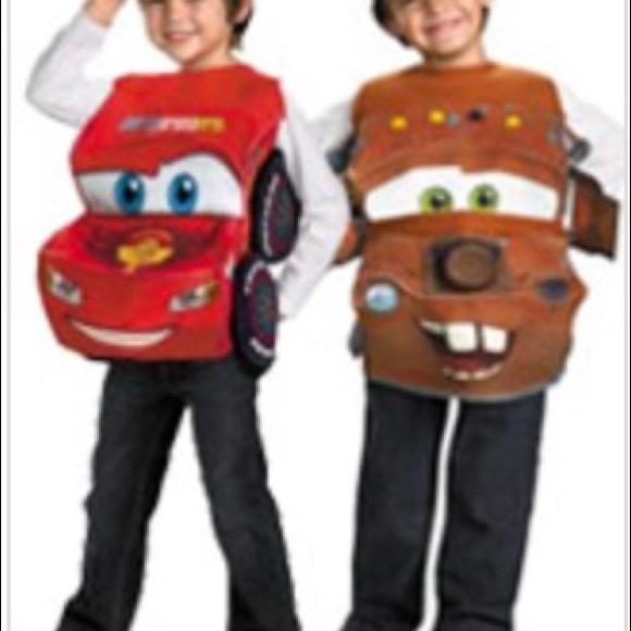Disney Pixar Cars Costumes Tow Mater Costume Poshmark
